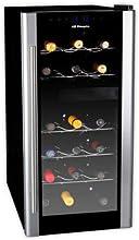 Orbegozo - Vinoteca Vt1800, 18 Botellas, 61X25.2X51Cm, Electronico, Cristal Espejo, 140W