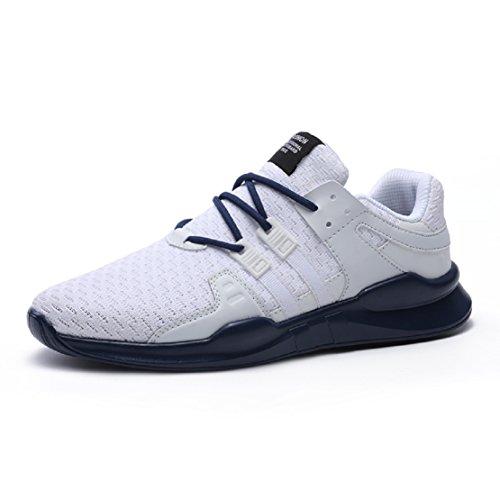 Neoker Baskets Athlétiques Basses Femmes Hommes Sneaker Running Tennis  Chaussures De Sport Noir 36-46 21bb55aa37a4