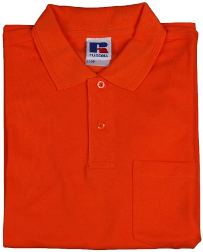 Russell Herren Poloshirt , Model: diverse Orange