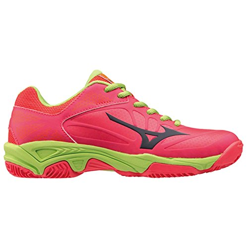 Mizuno EXCEED STAR Jr. CC - Scarpe Tennis Bambino - Kid's Tennis Shoes (36, rosa)