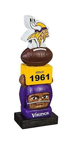 Team Sports Amerika Minnesota Vikings Vintage NFL Tiki Totem Statue