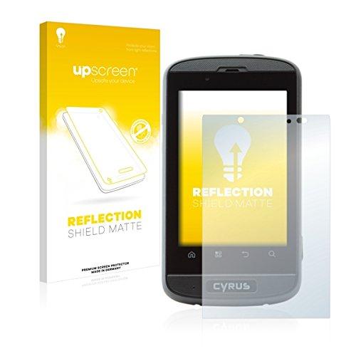 upscreen Reflection Shield Matte Bildschirmschutz Schutzfolie für Cyrus CS 18 (matt - entspiegelt, hoher Kratzschutz)