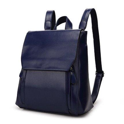 Mefly Neue Rucksack große Kapazität Handtasche Blue