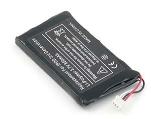 Batterie compatible pour Apple iPod 10GB M8976LL/A, iPod 15GB M9460LL/A, iPod 20GB M9244LL/A, iPod 30GB M8948LL/A, iPod 3G, iPod 40GB M9245LL/A