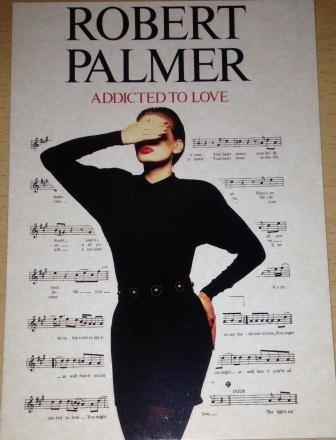 Robert Palmer-Addicted To Love-10x 15cm Postkarte