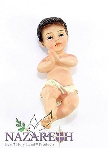 Sch?nes kleines Baby Jesus Figur Puppe aus Nazareth Heiligen Land sehr detaillierte