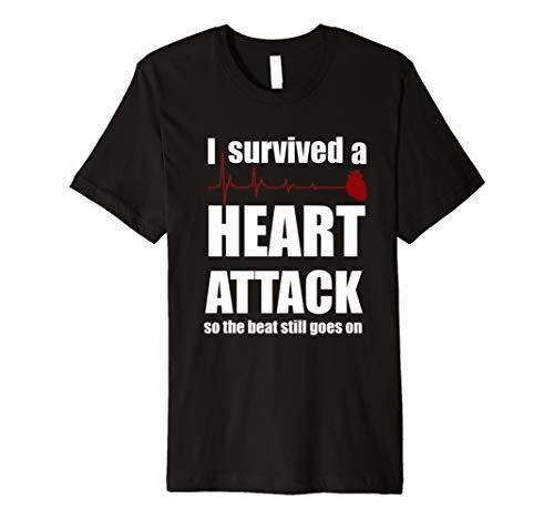 Ich überlebte ein Herz Attack Shirt