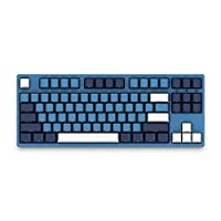 EPOMAKER AKKO SP Ocean Star Cherry MX Switch لوحة مفاتيح ميكانيكية مع أغطية مفاتيح PBT، منفذ النوع C للاعبين الكمبيوتر الشخصي (مفتاح بني كرزي، 84 مفتاح)
