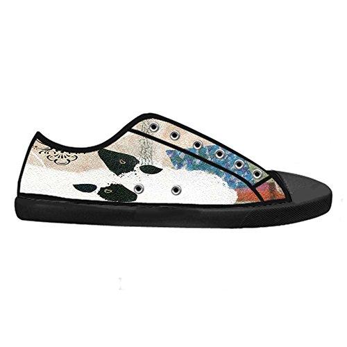 Dalliy Cute Color Sheep Men's Canvas shoes Schuhe Lace-up High-top Sneakers Segeltuchschuhe Leinwand-Schuh-Turnschuhe D