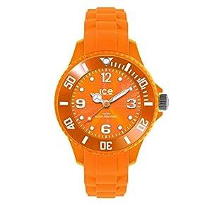 Ice-Watch – Ice Forever Orange – Orange Herrenuhr mit Silikonarmband