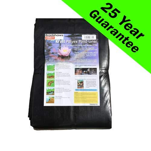 Pond Liner 4m x 3m 25 YEAR GUARANTEE
