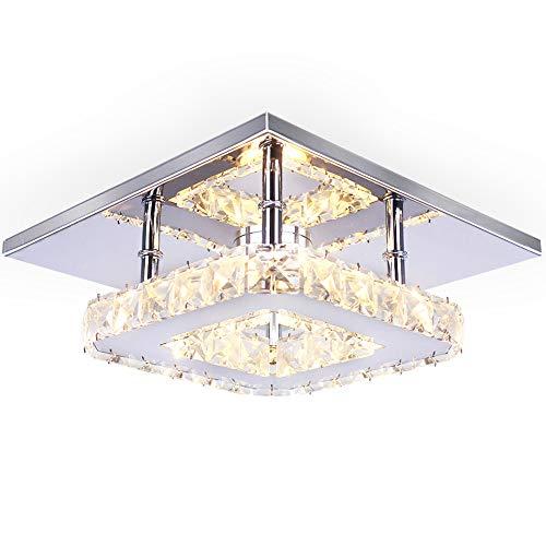 Semi Mini modernas lámparas de araña de cristal candelabro de pared montaje...