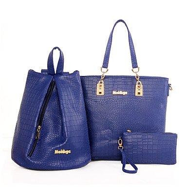 Le donne della moda Classic Crossbody Bag,grigio Blue