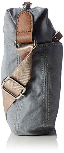 GERRY WEBER Damen Sunshine Shoulderbag Mhz Schultertasche, 5x23x22 cm Blau (Light Blue)