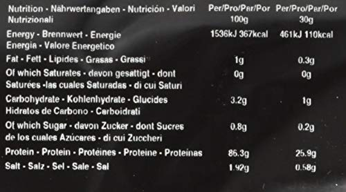 THE PROTEIN WORKS Soy Protein 90 (Isolate), Vanillecreme, 500g