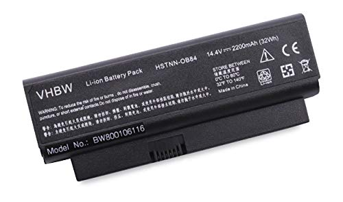 vhbw Batterie 4400mAh (7.2V) pour HP Pavilion tx1000, tx1000Z, tx1001AU, tx1001XX, tx1002AU, tx1002XX, tx1003AU, tx1004AU, tx1005AU,etc.