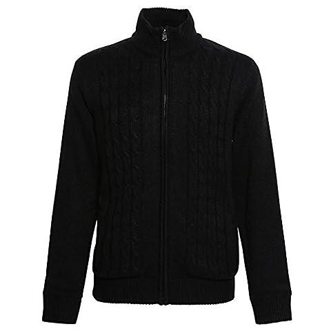 Affordable Fashion - Gilet - Moderne - Homme Large - noir - XX-Large