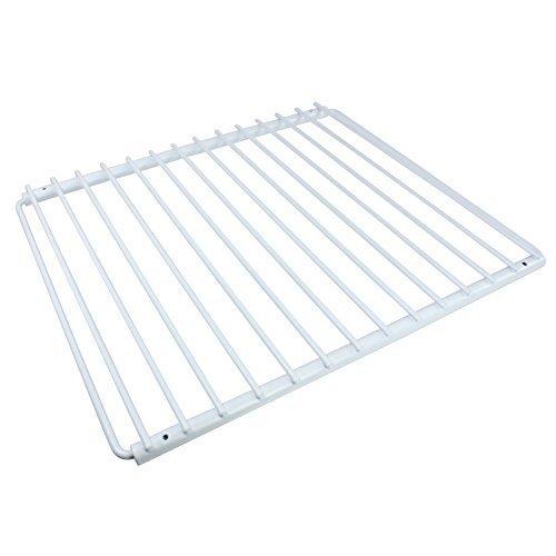 SPARES2GO recubierto de plástico ajustable del congelador de refrigerador estante con brazos extensibles Screwfix