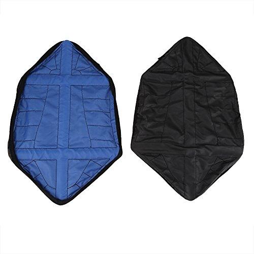 Copriscarpe automatici, 1 paio di copriscarpe antiscivolo impermeabili usa e getta riutilizzabili a mani libere(blu)