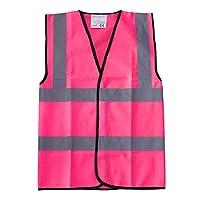 High Visibility Childrens Hi Vis Viz Vest Safety Waistcoat All Colours & Sizes