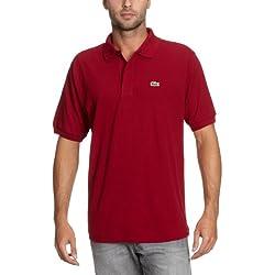 Lacoste L1212, Polo Para Hombre, Rojo (Bordeaux 476), 4X-Large (Talla del fabricante: 9)