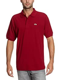 Lacoste L1212  - 00 - Polo Homme  Rouge (Bordeaux)-X-Large (Taille Fabricant : 6)