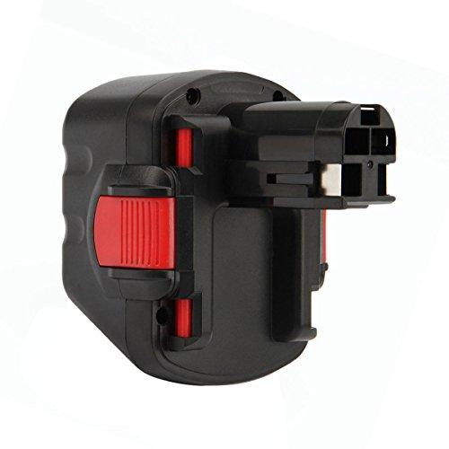 Preisvergleich Produktbild Creabest 12V 3000mAh Ni-MH Akku für Bosch BAT043 BAT045 BAT046 BAT049 BAT139 22612 3360 3455 32612 3360K 3455-01 2607335274 2607335709 2609200306