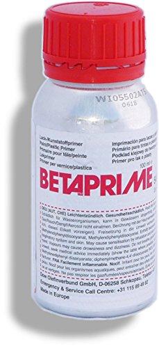 Betaprime 5404 | 100 ml Alu Flasche | Dow Automotive | Kunststoffprimer Lackprimer | Grundierung Primer Kunststoffe Lacke | Haftgrundlage PUR-Klebmassen Dichtungsmassen (z. B. Betaseal und Betamate)