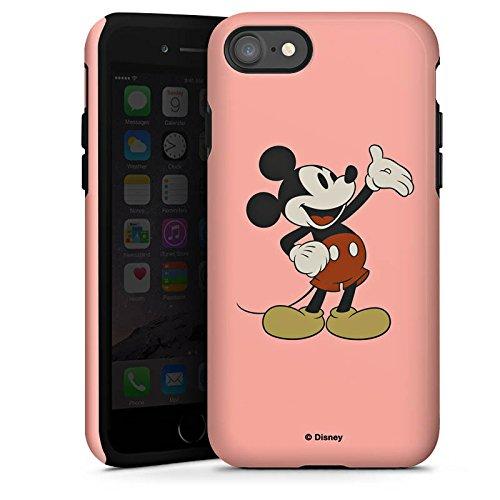 Apple iPhone X Silikon Hülle Case Schutzhülle Disney Mickey Mouse Classic Geschenke Merchandise Tough Case glänzend