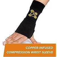 copperjoint Kupfer Handgelenkstütze, # 1Kompression Sleeve–Garantiert Erholung von Schmerzen, Verstauchungen... preisvergleich bei billige-tabletten.eu