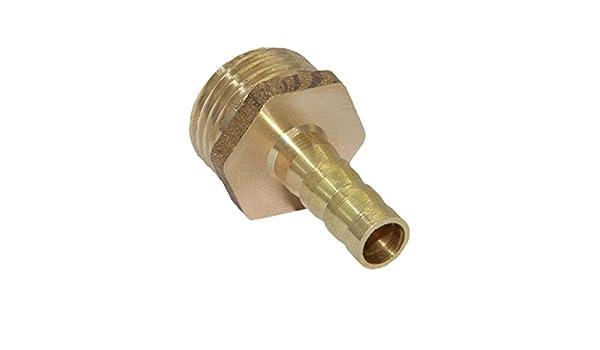 """19mm 1//2/"""" Messing Steckverbinder Schlauchverbinder Verbinder Stecker"""