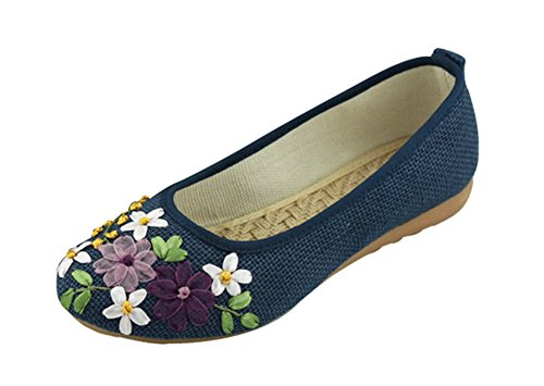 fq-real-beautifu-embroidered-ethnic-style-flat-shoes-blue-size-7-uk