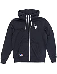 New Era Herren Sweatjacke Team Apparel Hoody New York Yankees S