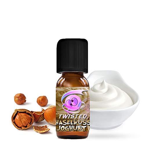 Twisted Vaping Aroma 10ml DIY Größe Haselnuss Joghurt