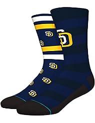 Stance MLB San Diego Padres Splatter Chaussettes Bleu Marine