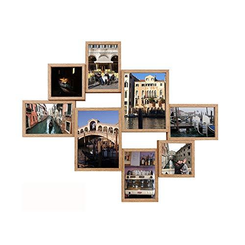 Texas Collage (empireposter Collage Bilderrahmen - Shinsuke® - Texas - Eiche - Größe 62,5x50,5 cm)