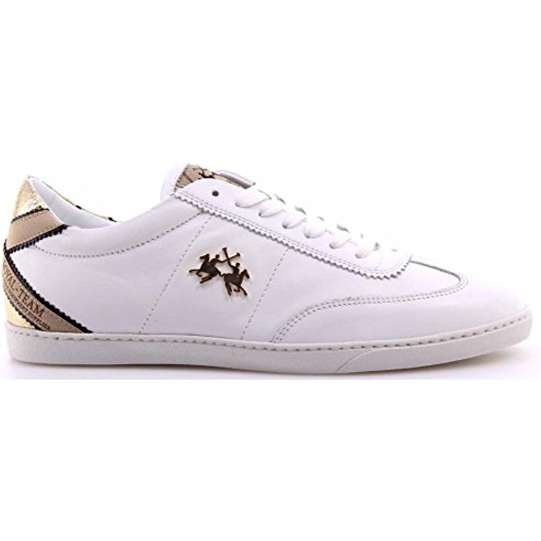 Scarpe Sneakers Strappo Strappo Sneakers Doppio Pelle Scamosciata 354044