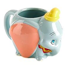 Dumbo Shaped Coffee Mug - Officially Licensed Disney Merchandise
