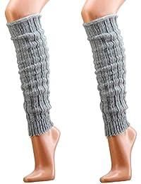 mit Alpakawolle Stulpen-Legwarmers für Teenager und Damen