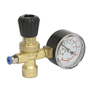 Sealey REG/MMG MIG Gas Regulator 1 Gauge Disposable Cylinder