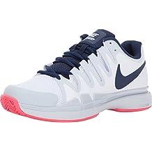 ea7d8ad7a0dce Nike - Air Zoom Vapor 9.5 Tour Damen Tennisschuh (weiß/dunkelblau)