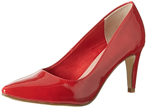 Tamaris Damen 22447 Pumps, Rot (Chili Patent 520), 37 EU