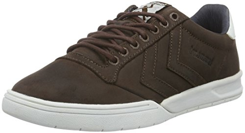 hummel Hml Stadil Winter Low Sneaker, Scarpe da Ginnastica Basse Unisex - Adulto, Marrone (Chestnut), 47 EU