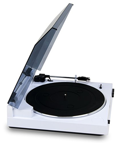 Dual DT 210 USB Schallplattenspieler mit Digitalisierungsfunktion, weiß - 5