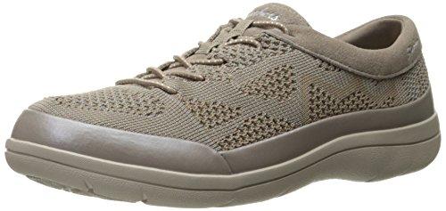 Skechers Lite Step-Reactive, Zapatillas para Mujer, Beige (Dktp), 36 EU