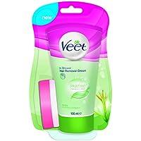 Veet En-Crema de Ducha Depilación para la piel seca con manteca de karité y