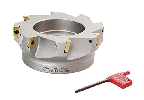 accusize–12,7cm X 11/5,1cm 90°. Quadratische flaschenschulter indexable Face Mühle w/APKT einfügen, # 4508–0022