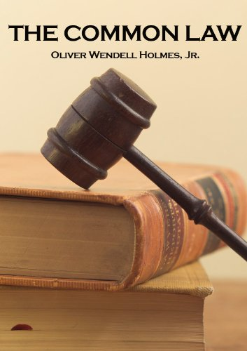 The Common Law Lecture by Oliver Wendell Holmes, Jr. (English Edition)