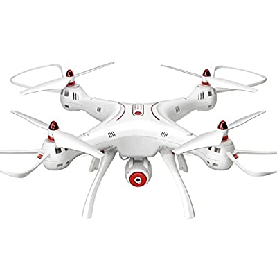 Drones X8SW large real-time air drone fighter remote control aircraft 2.4GHz1080p HD camera prime control quadcopter real-time transmission from Alte Green