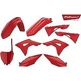 Unbekannt Motorrad komplett Kit f. Honda CRF 250 R J ME12A JH2. rot 04 5604415083723